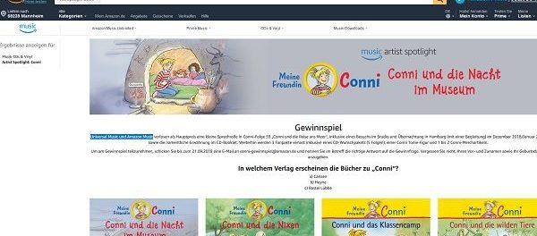 Universal Music und Amazon Music Gewinnspiel Hamburg Reise Hörbuch Sprechrolle