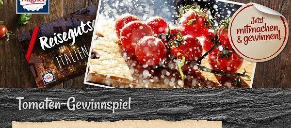 Wagner Pizza Gewinnspiel Italienreise und wöchentlich Sachpreise
