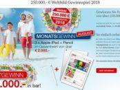Weltbild Gewinnspiel Apple iPads und Geld gewinnen