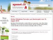 aponet Geld Gewinnspiel 500 Euro Bargeld