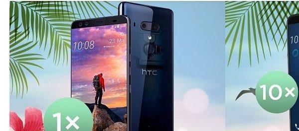 htc Sommer Gewinnspiel HTC U12+ Smartphone