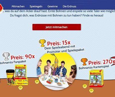 ültje Gewinnspiel Spielepakete und Spieleabende