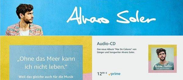 Amazon Gewinnspiel Alvaro Soler Konzert Meet und Greet