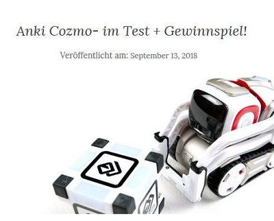 Anki Cozmo Roboter Gewinnspiel fabibloggt.de