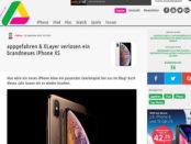 Appgefahren Apple iPhone X Gewinnspiel