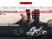 Auto-Gewinnspiel BMW i8 gewinnen Lloyd Schuhe