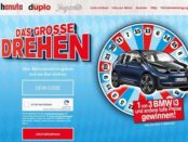 Auto-Gewinnspiel Ferrero Das grosse Drehen BMW i3