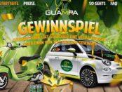 Auto-Gewinnspiel Guampa Energy Drink Fiat 500