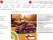 Auto Gewinnspiel Otto Versand Fiat 500X Cross oder 20.000 Euro Bargeld