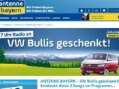 Auto-Gewinnspiele Antenne Bayern VW Bulli gewinnen