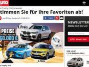 Auto Zeitung Gewinnspiel BMW X2, VW T-Roc und Ford Focus