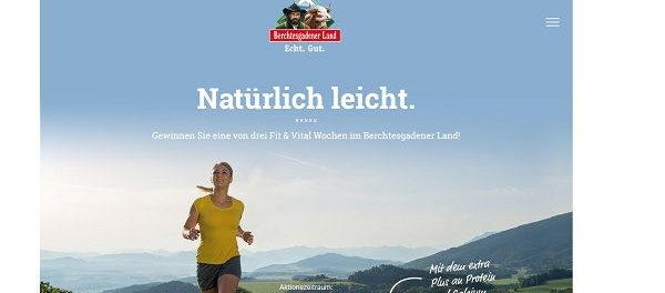 Bergbauern Milch Gewinnspiel 3 Urlaube Berchtesgadener Land
