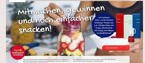 Dole Gewinnspiel SMEG Kühlschränke und Standmixer