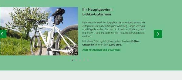 E-Bike Gewinnspiel AOK Nordwest 2018
