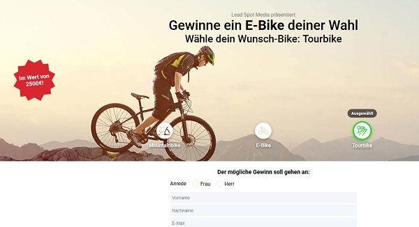E-Bike Gewinnspiel
