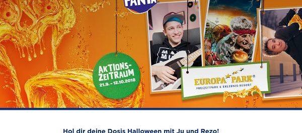 Fanta Gewinnspiel Halloween Gruselwochenende Europa Park