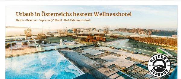 Galeria Kaufhof Gewinnspiel 3 Wellness-Urlaube Österreich