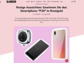 Glamour Gewinnspiele Huawei P20 Smartphone gewinnen