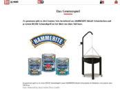 Hammerite und Bild.de Gewinnspiel Schwenkgrill
