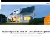 Haus Gewinnspiel Musterring WeberHaus 2018