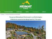 Heimatkanal Gewinnspiel Bergchalet Urlaub gewinnen