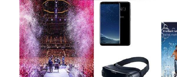 Jolie Gewinnspiel Samsung Galaxy S8 und VR-Brille