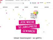 Jubiläums Gewinnspiel Ernstins Family 50 Saugroboter
