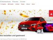 Kaufland Auto-Gewinnspiel fünf Mercedes A-Klasse