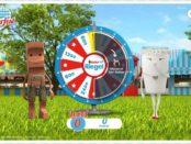 Kinder Riegel Oktoberfest Gewinnspiel Glücksrad drehen