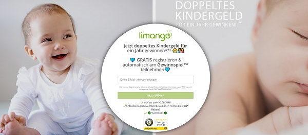 Limango Gewinnspiel 1 Jahr doppeltes Kindergeld gewinnen