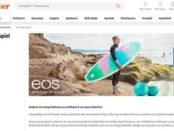 Müller Drogerie Gewinnspiel EOS Surfboard und Produkte