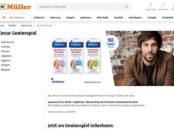Müller und Emcur Gewinnspiel Max Giesinger Konzertbesuch und Übernachtung