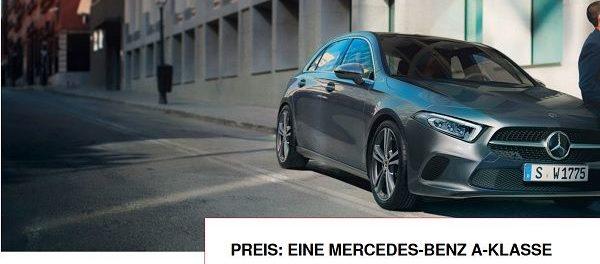 Mercedes A-Klasse Auto-Gewinnspiel Juniorsportler Wahl 2018