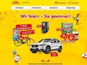 Netto Geburtstags Gewinnspiel BMW X1 und über 4.000 Preise gewinnen