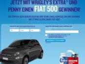 Penny und Wrigley Extra Auto Gewinnspiel Fiat 500