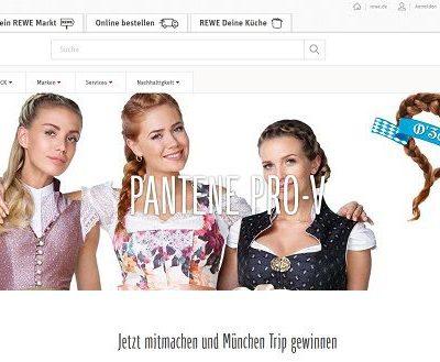 REWE Gewinnspiel Pantene Pro V Oktoberfest Reise gewinnen