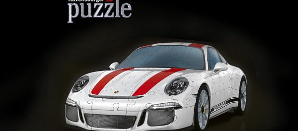 Ravensburger 3D Puzzle Porsche 911 Gewinnspiel