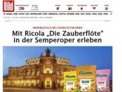 Ricola und Bild.de Gewinnspiel Semper Oper Dresden