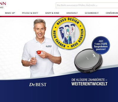 Saugroboter Gewinnspiel Rossmann und Dr. Best