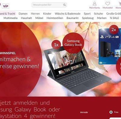 Schwab Versand Gewinnspiel Samsung Galaxy Book oder Playstation 4