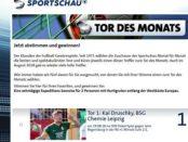 Seereise Gewinnspiel Sportschau Tor des Monats August 2018