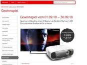 Vodafone Gewinnspiel Benq 4k Beamer Verlosung
