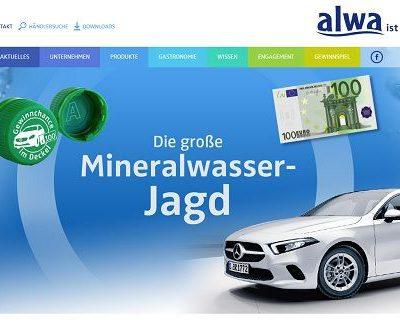 alwa Auto Gewinnspiel Mercedes A-Klasse und Geld gewinnen