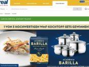 real Gewinnspiel Barilla verlost WMF Kochtopf-Sets