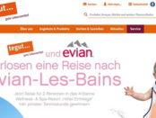 tegut und Evian Gewinnspiel Frankreich Reise Wellness-Urlaub