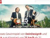 AVIA Gewinnspiel Kinostart 25km-h Moped gewinnen