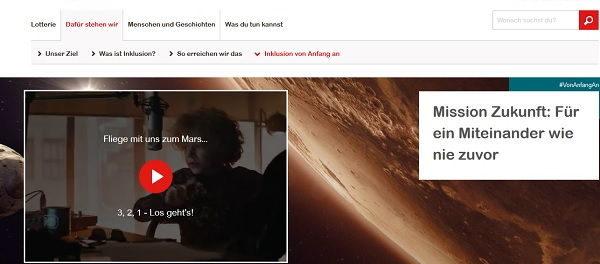 Aktion Mensch Gewinnspiel Reise Hamburg Planetarium
