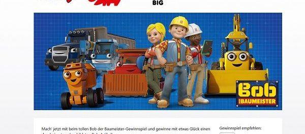 Bob der Baumeister Gewinnspiel Simba Dickie Toys