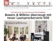 Bowers und Wikins Lautsprecher Gewinnspiel Bild.de