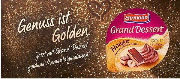 Ehrmann Gewinnspiel Grand Dessert Prag Reise